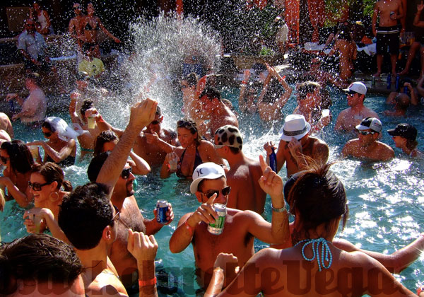 Tao Beach Pool Party Las Vegas