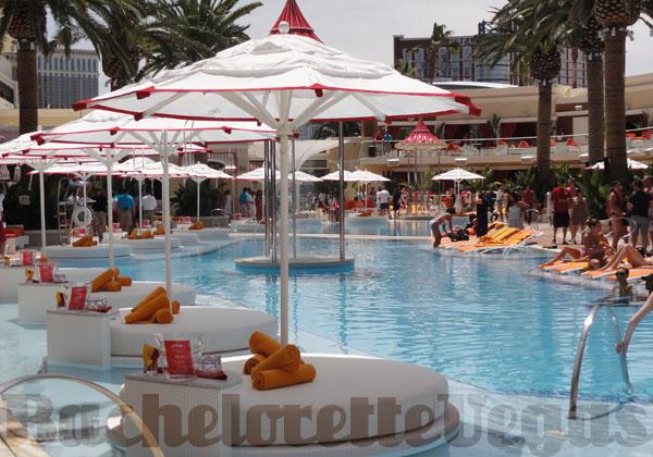Encore Beach Club Pool Party Bachelorette Vegas