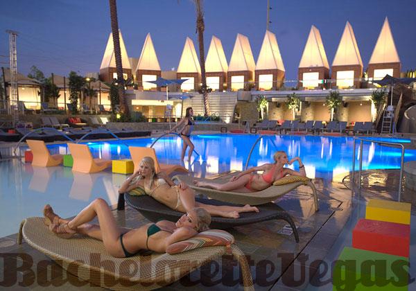 Palms Pool Party Bachelorette Vegas